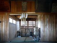 大野八幡神社 拝殿内
