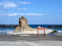 勿来海岸 二つ岩