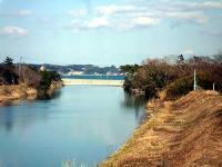 蛭田川 下流の菊多浦