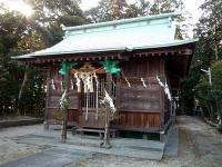 中田八坂神社 拝殿