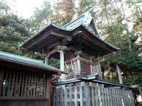 中田八坂神社 本殿