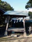 中田八坂神社 神楽殿