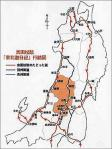 東北遊日記 地図