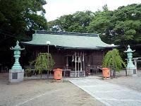 小名浜諏訪神社社殿