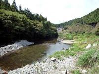 入遠野川ヤナ場
