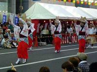 南越谷阿波踊り、女踊り