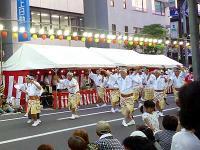 南越谷阿波踊り、男踊り