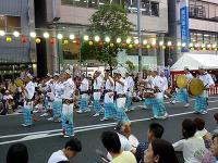 南越谷阿波踊り、鳴り物
