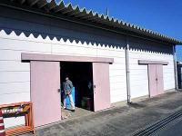 資料館の倉庫
