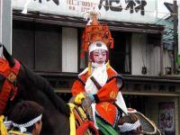 長野県大町市「若一王子神社の流鏑馬」