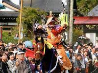 福島県古殿町「古殿八幡神社の流鏑馬」