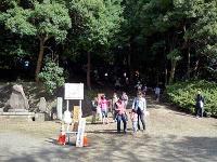 出雲伊波比神社裏山