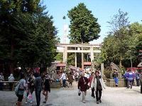 出雲伊波比神社 一の鳥居