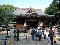 出雲伊波比神社 拝殿