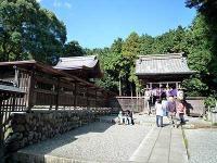 本殿と八幡社