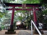 氷川女体神社境内