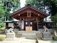 大間木氷川神社拝殿