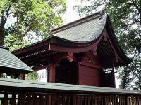 大間木氷川神社本殿