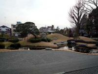 方丈から見た南庭園