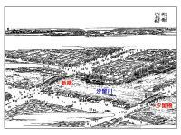 江戸名所図会「新橋・汐留橋」挿絵