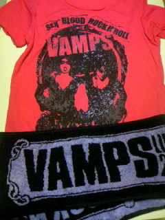 VAMPS LIVEグッズ2