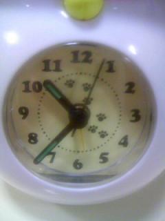 ニャンコ先生ゆらゆら時計8