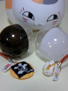 ニャンコ先生和菓子ストラップカプセル3