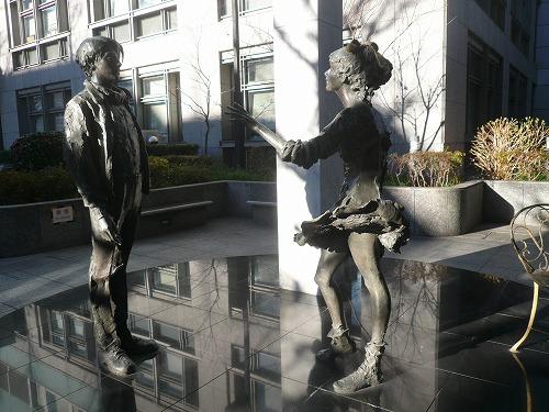 区役所銅像