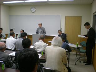 学問の里浅野川愛護協会定期総会