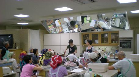 「かしわぎ学級」の料理教室