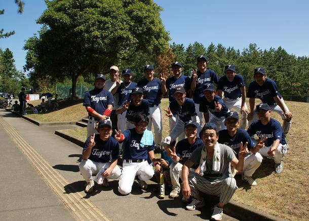 ベスト8の田上チーム!!!