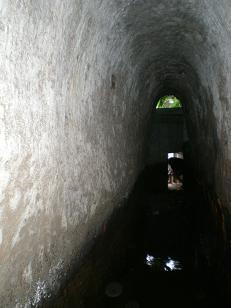 金浦用水銚子口取水い口付近
