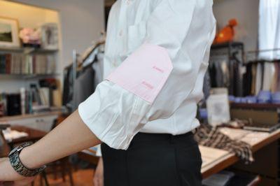 シャツ袖3