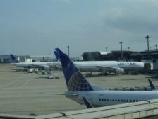 成田飛行機2機