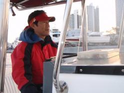 コピー ~ 2012.,3,釣友Tk氏所有のボートでシーバス釣行 011