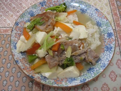 中華風スープご飯