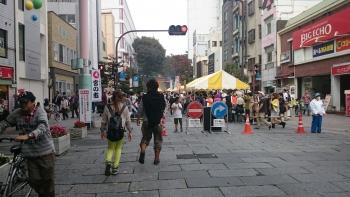 餃子祭り近くでお祭り1