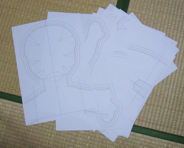 s-01型紙印刷