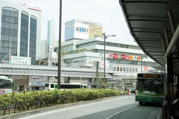 20120518駅前バス乗り場