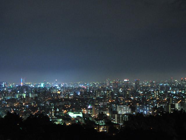 2010・8夜景旭山公園