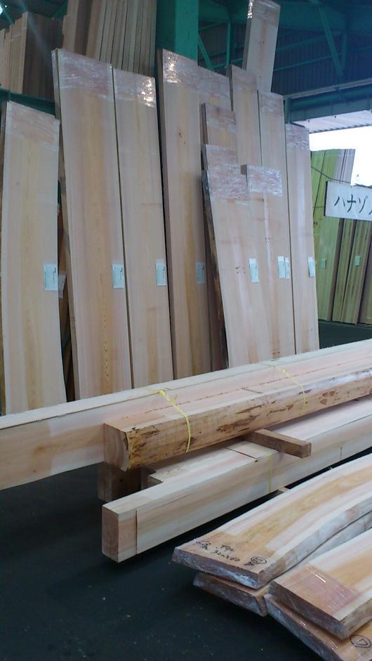 大きな材木