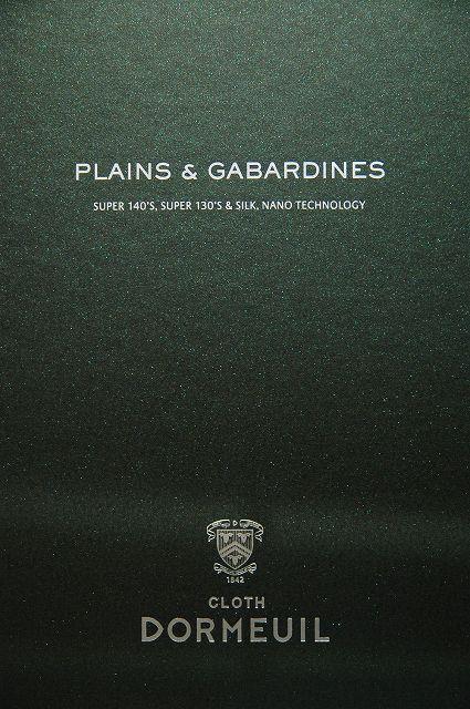 DORMEUIL PLAINS&GABARDINES