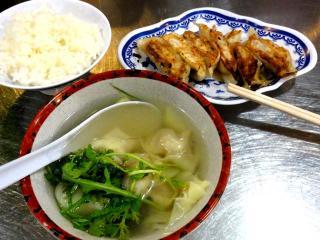 揚子江のB定食