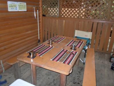 デッキ テーブル