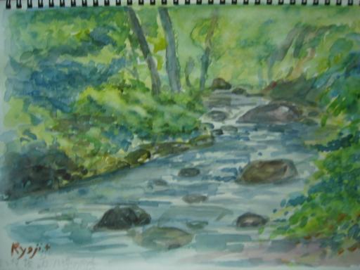 水彩画6・23の1