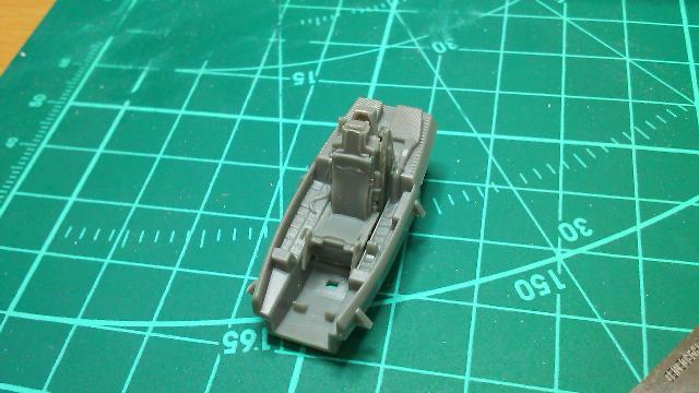 F22コクピット塗装前
