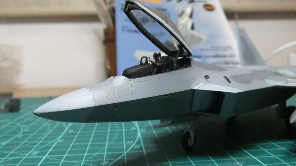 F22コクピット完成