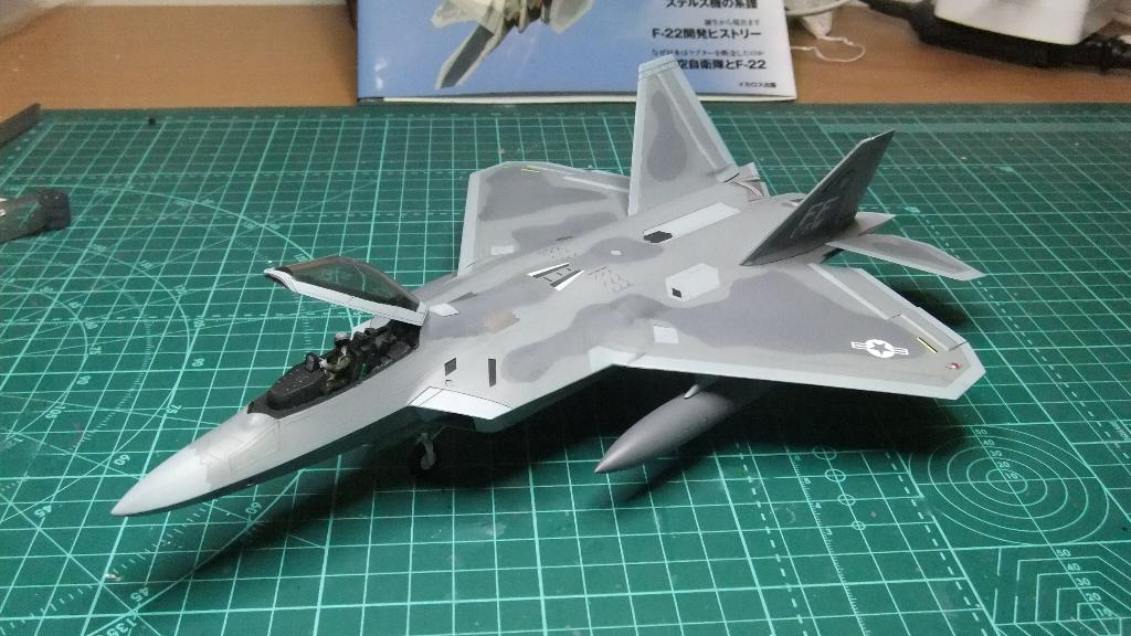 F-22フジミ完成