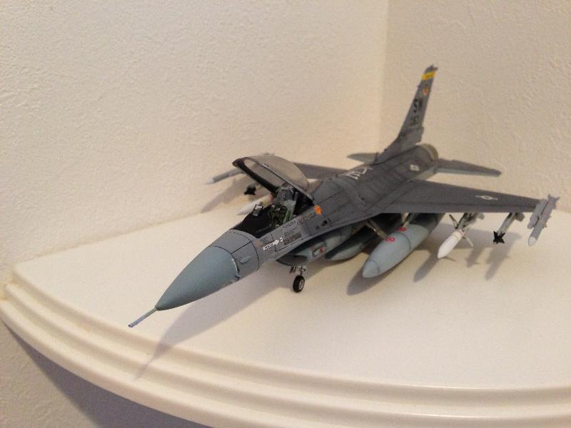 F-16完成0