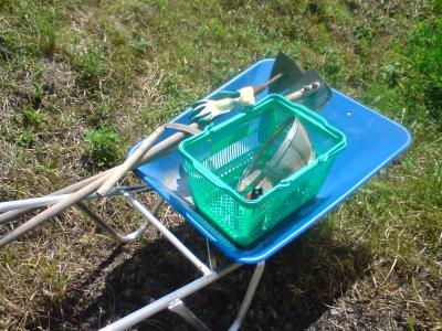 畑仕事の道具